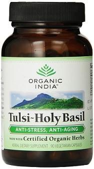 ORGANIC INDIA Tulsi - Holy Basil Supplement