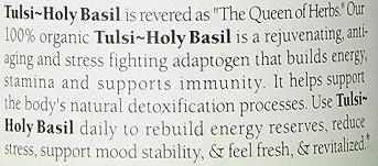 Tulsi Holy Basil Benefits