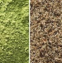 Color & Texture - Green Tea vs. Matcha Powder